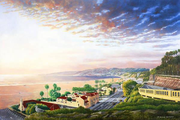 Santa Monica View North Poster
