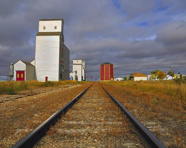 Saskatchewan Prairies Poster