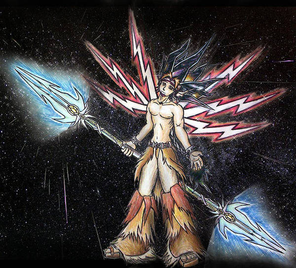 Satari God Of War And Battles Poster