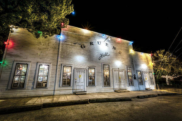 Saturday Night At Gruene Hall Poster