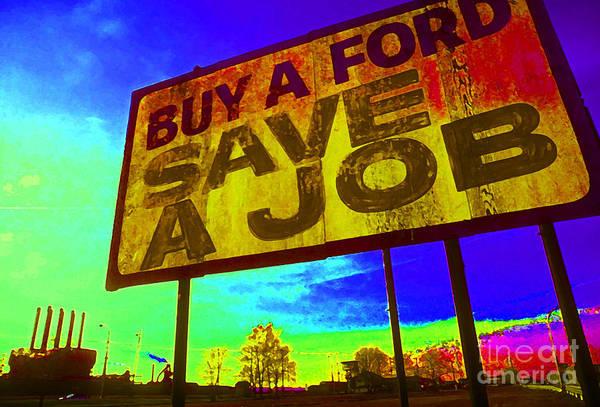 Save A Job Poster
