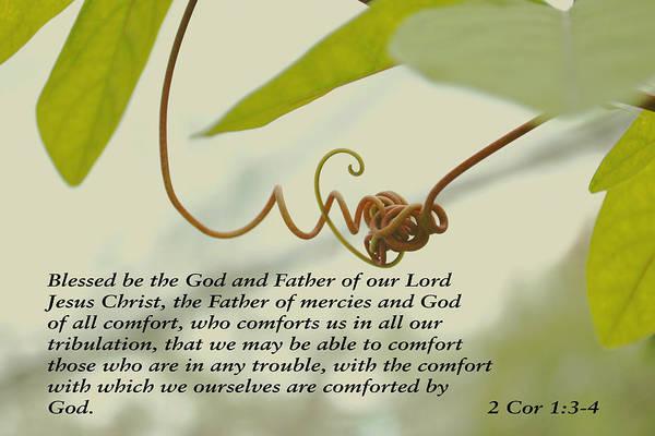 Scriptures Of Comfort 1 Poster