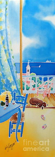Poster featuring the painting Sea Breeze by Hisayo Ohta