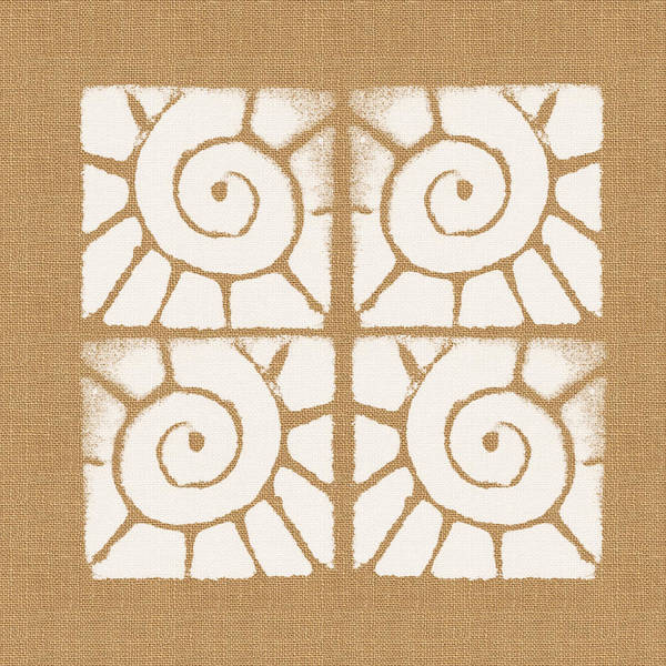 Seashell Tiles Poster