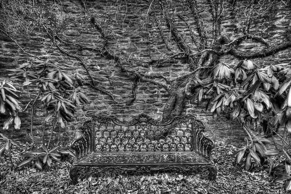 Secrets Of The Garden Bw Poster