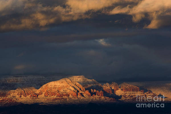 Sedona Arizona After The Storm Poster