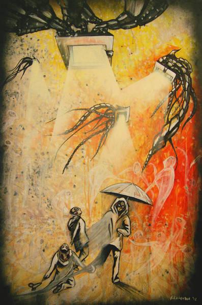 See Hear Speak No Evil Painting By Artist Ekaterina Chernova Poster