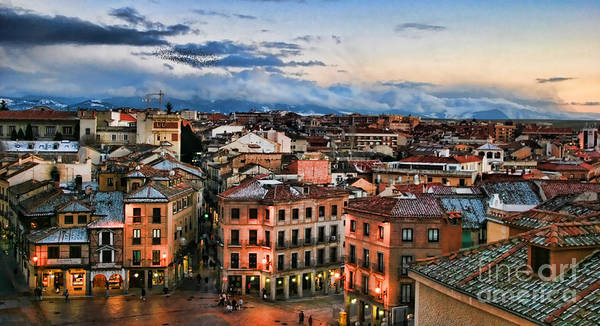 Segovia Nights In Spain By Diana Sainz Poster
