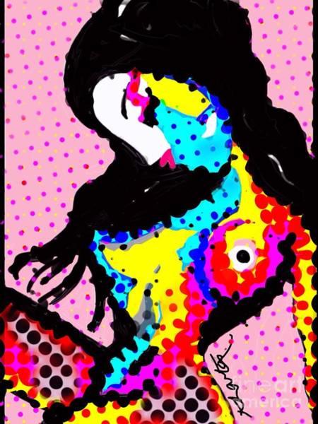 Sex Kitten Colour Polkadots Poster
