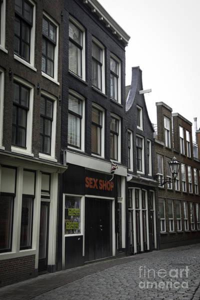 Sex Shop Amsterdam Poster