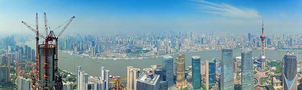 Shanghai Panorama Poster