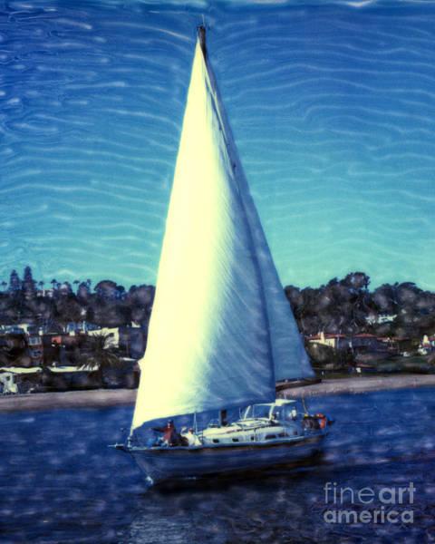 Shelter Island Sailing Poster