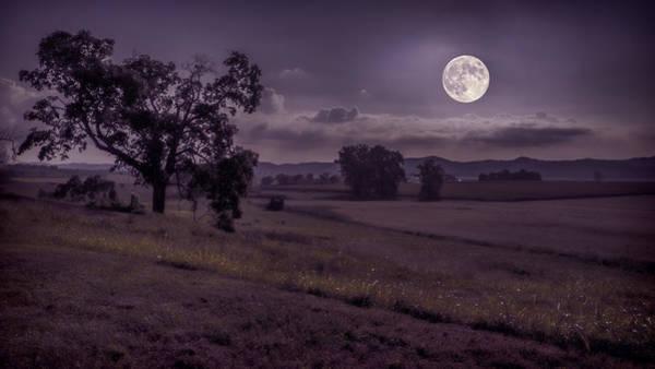 Shine On Harvest Moon Poster
