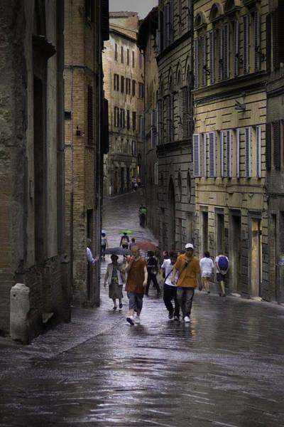 Siena Rain Poster