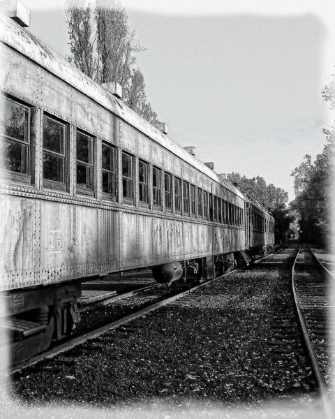Poster featuring the photograph Sierra Railway On The Tracks by William Havle