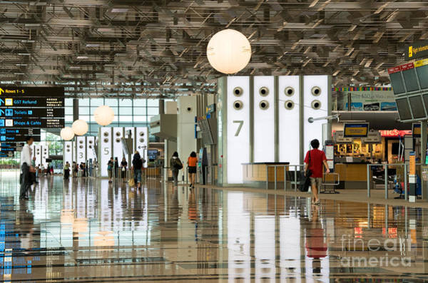 Singapore Changi Airport 02 Poster