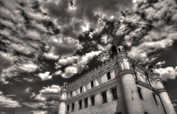 Sky Breaker In Black And White Poster