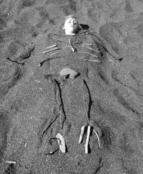 Skye Skeleton Poster