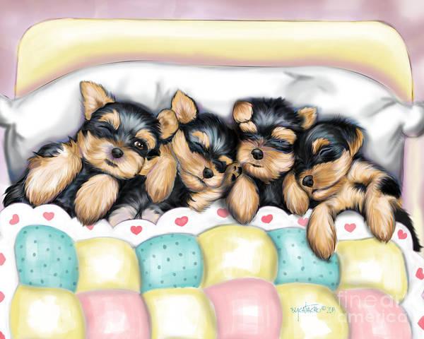 Sleeping Babies Poster