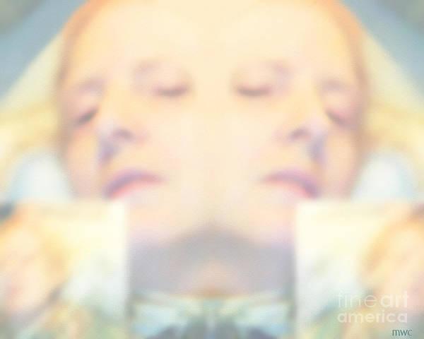 Sleeping Woman Drifting In Dreams Poster