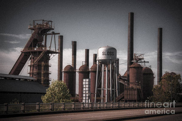 Sloss Furnaces Poster