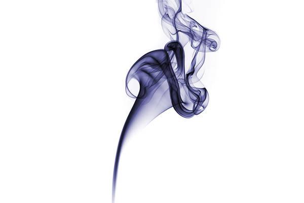 Smoke Pattern Poster