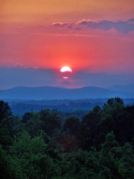Smokey Mtn Sunset Poster