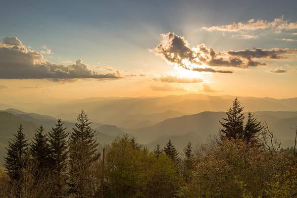 Smoky Mountain Splendor Poster