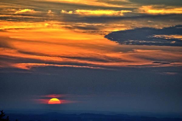 Smoky Mountain Sunset 1 Poster