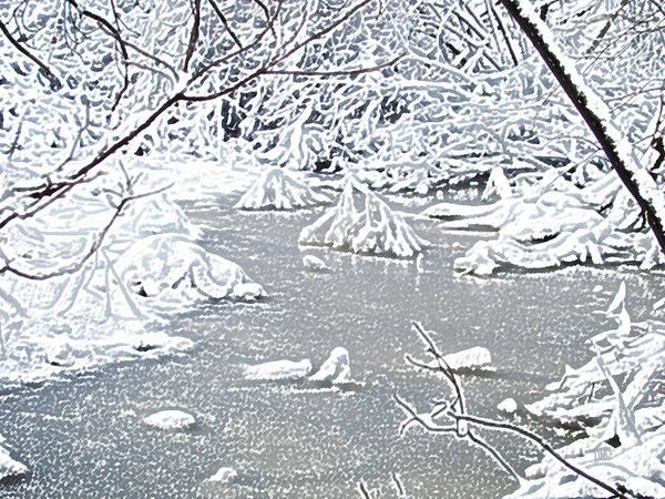 Snow Fairies Poster