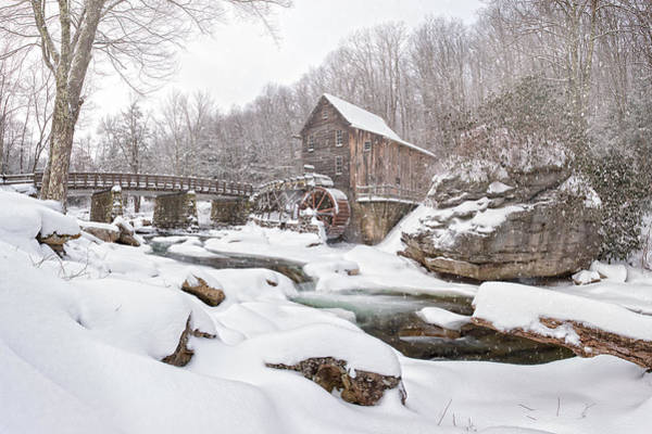 Snowglade Creek Grist Mill 1 Poster