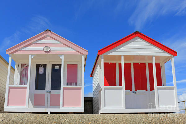 Southwold Beach Huts Poster