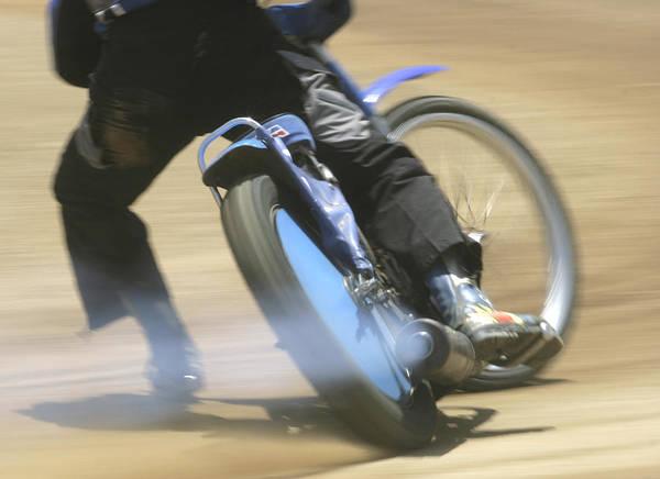 Speedway Slide Poster