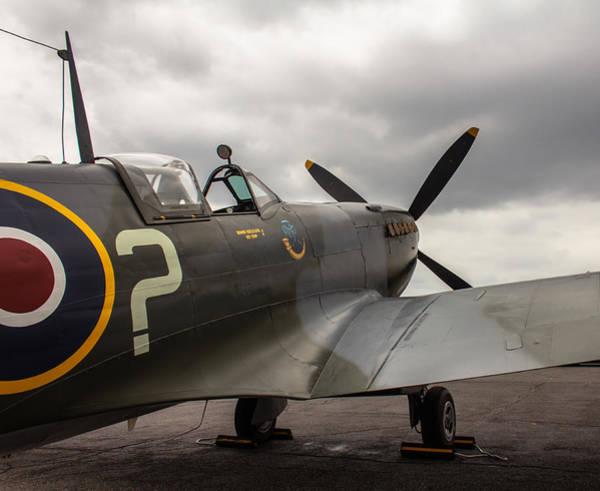 Spitfire On Display Poster