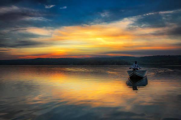 Splendor On The Lake Poster