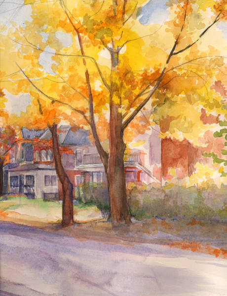 Spruce Street Maples Poster