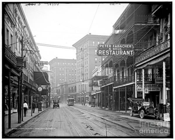 St Charles Street New Orleans Poster