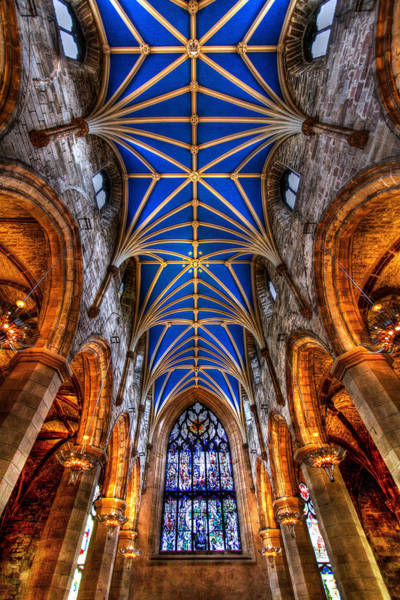 St Giles Cathedral Edinburgh Poster