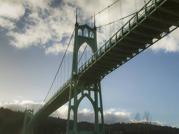 St Johns Bridge Poster