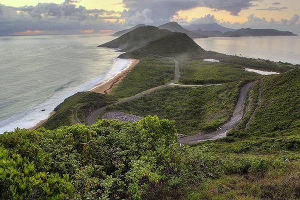 St Kitts Overlook Poster