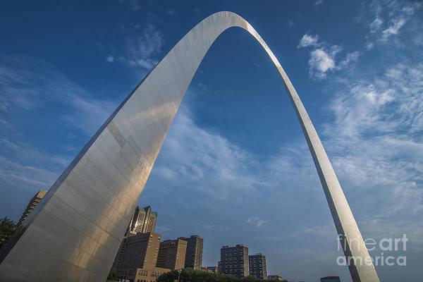 St. Louis Gateway Arch Sunrise Poster