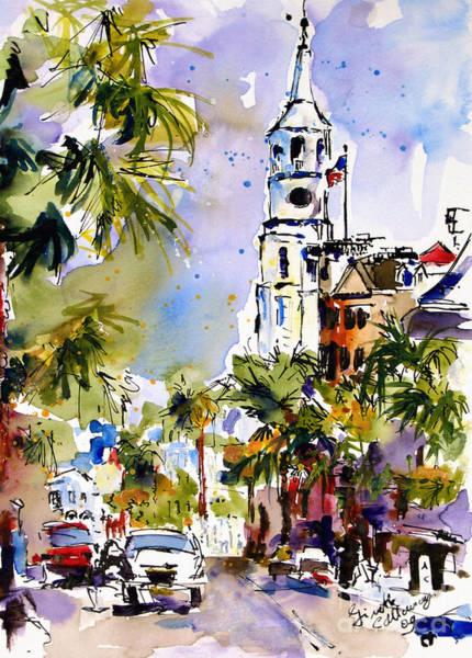 St Michael's Church Charleston South Carolina Poster