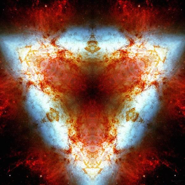 Starburst Galaxy M82 Vi Poster