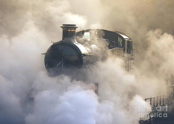 Steaming At Dawn No1 Poster