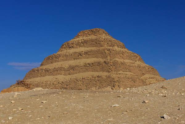 Step Pyramid Of King Djoser At Saqqara  Poster