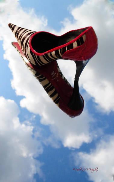 Stilettos Gone Zebra Poster