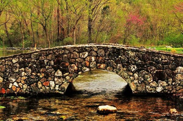 Stone Bridge In The Ozarks Poster