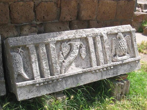 Stone In Tarquinia Poster