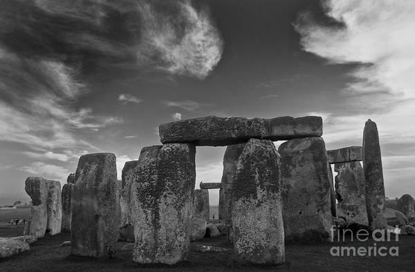 Stonehenge Historic Monument Poster
