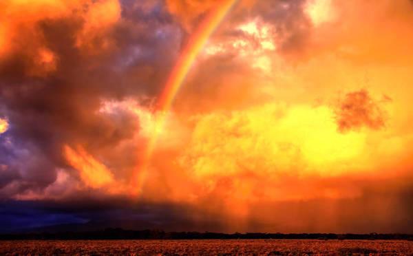 Storm Over The Flinders Ranges Poster